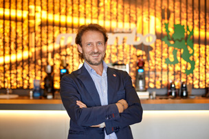 Georgio Drago, Owner of Drago Mocambo, the world's leading expert in high-grade coffees